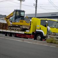 重機運搬車