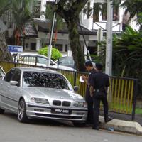 警官の取り締まり