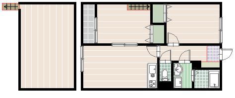 茶山アパート102