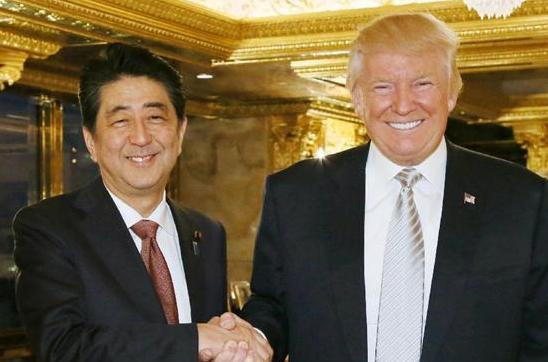 安倍晋三 ドナルド・トランプ abeshinzo trump