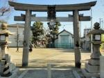 洲到止八幡宮神社 初詣2017 (1)