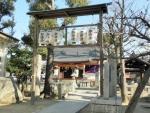 洲到止八幡宮神社 初詣2017 (2)