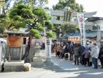 庄内神社 初詣2017 (1)