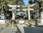 長吉住吉神社 初詣 2017 (1)