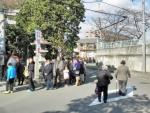 熊野田八坂神社 初詣 2017 (2)