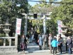熊野田八坂神社 初詣 2017 (1)