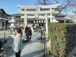 市軸稲荷神社 初詣 2017 (2)