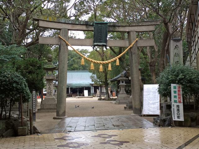 原田神社 とんど焼き201701 (1)