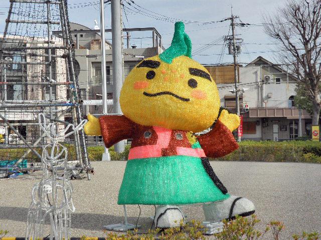 箕面雄駅前イルミネーション1701 (2)