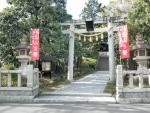 熊野田八坂神社1701とんど (1)