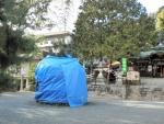 熊野田八坂神社1701とんど (2)