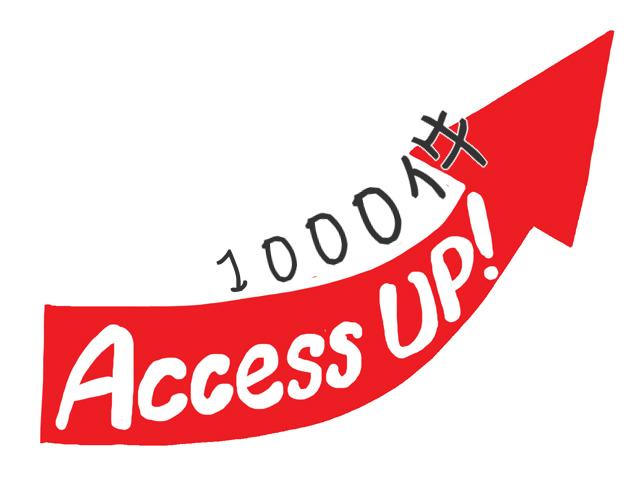 アクセス1000件超1701