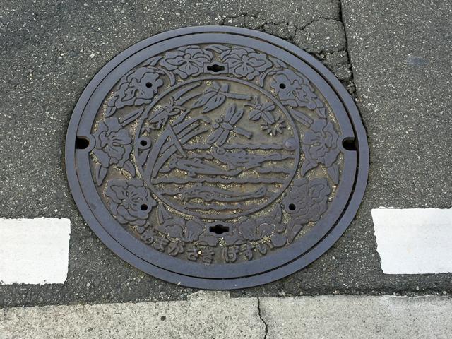 尼崎のマンホール1702
