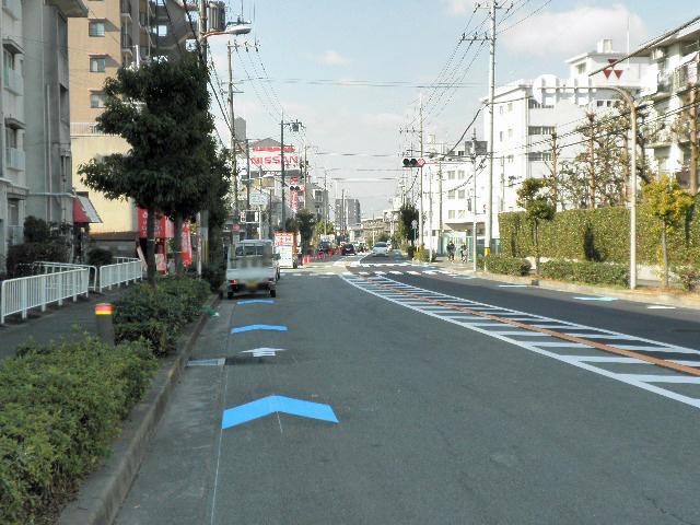 自転車ロード (4)99号伊丹豊中線