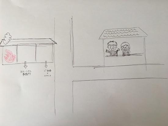 おとーしゃんの事務所「もらい火」2