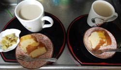 おやつ用量産林檎ケーキ