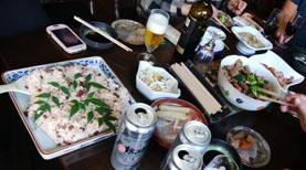 持ちより③赤飯&煮物