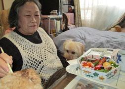 母と食べる御節1