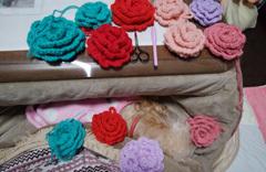 膝の主の上で編み編み1