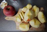 梅林檎ジャム作ります