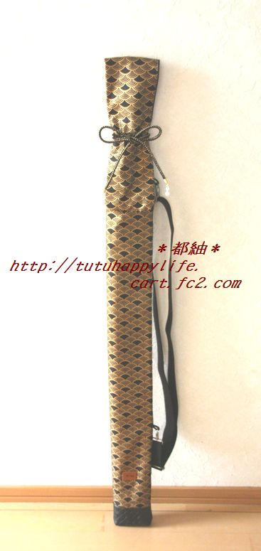 青海波木刀袋