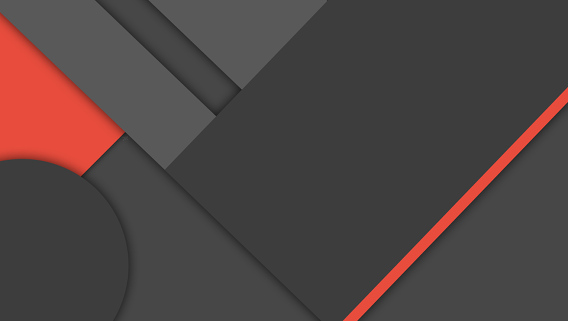 Dark Material Design Wallpaper Ubuntu 壁紙