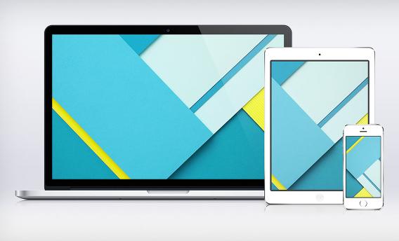 Google I/O Paper Wallpaper Material Design Ubuntu 壁紙