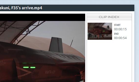 VidCutter Ubuntu 動画編集 終了位置の指定