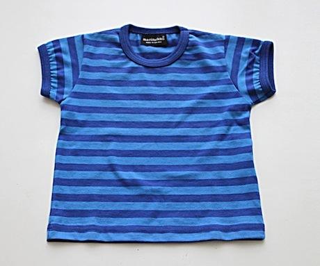 マリメッコベビーボーダーTシャツ