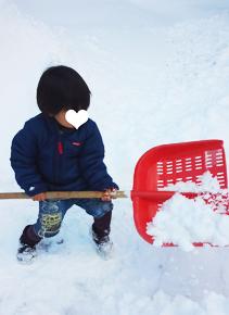雪かきマン