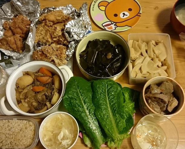 台湾料理屋の唐揚げ定食