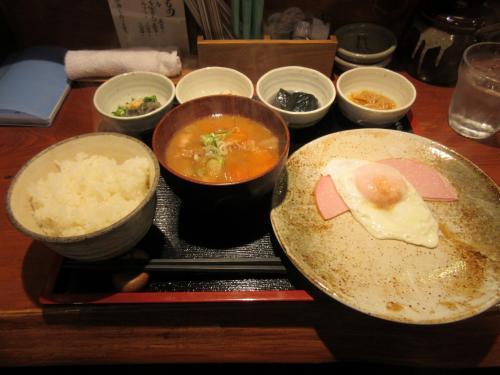 おまかせ定食(豚汁)