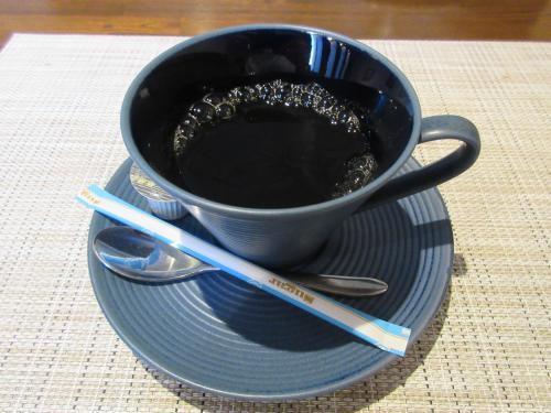 ドリンクはホットコーヒー