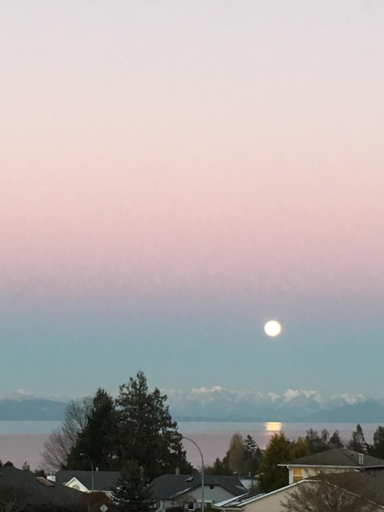2017年初満月