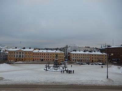 ヘルシンキ大聖堂上から