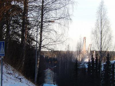 スキー競技場
