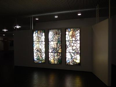 昔の教会ステンドグラス