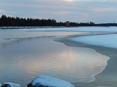 氷と水の境目