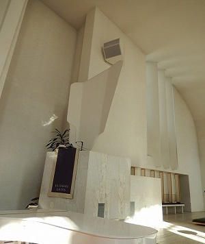 ラケウデンリスティ教会天使の翼