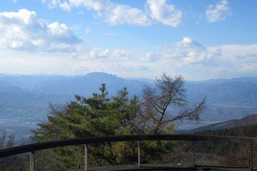 両神山の展望
