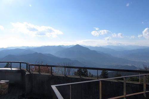 武甲山方面の眺望