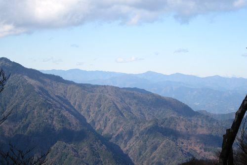 奥多摩の山々