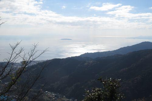 相模湾の景観