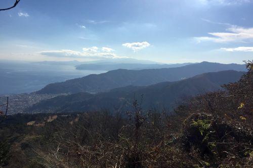 伊豆半島と岩戸山