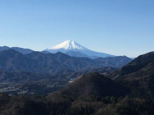 コヤシロ山からみた富士
