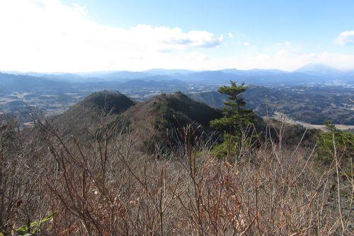榛名山と男山