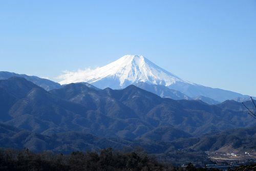 実成山手前からの富士