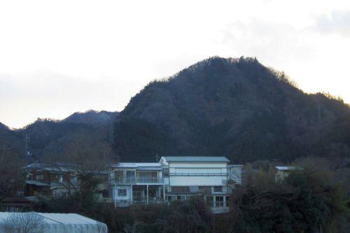 鶴島御前山と高柄山