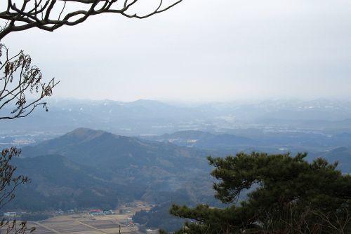 榛名山にて