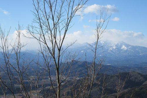 女峰山と男体山